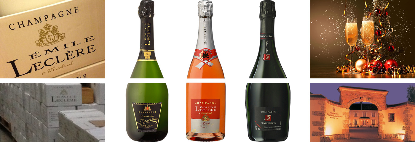 Champagne voor de feestdagen!
